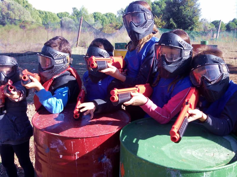 Paintball/ Laser Infantil